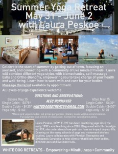 Summer Yoga Retreat - Alec